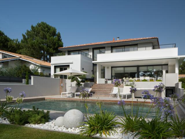 architecte la teste pilat villa b vue piscine rdc 2