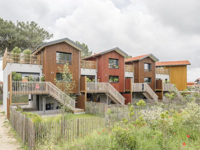 architecte la teste villas prés salés vue ensemble