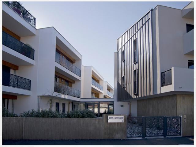 architecte la test de buch résidence millenium extérieur