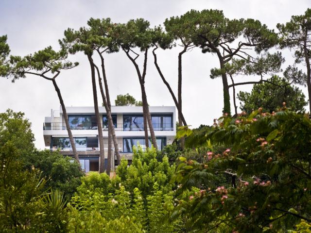 Villa W Architecte Bassin Arcachon vue foret
